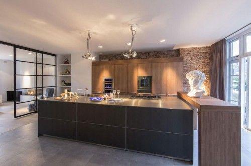 Luxe Keukens Amsterdam : Luxe keuken met open industriële karakter kitchen the place to