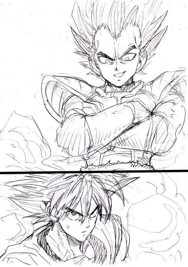Dragonball X Eyeshield21 Dessin Yusukemurata Manga Dbz