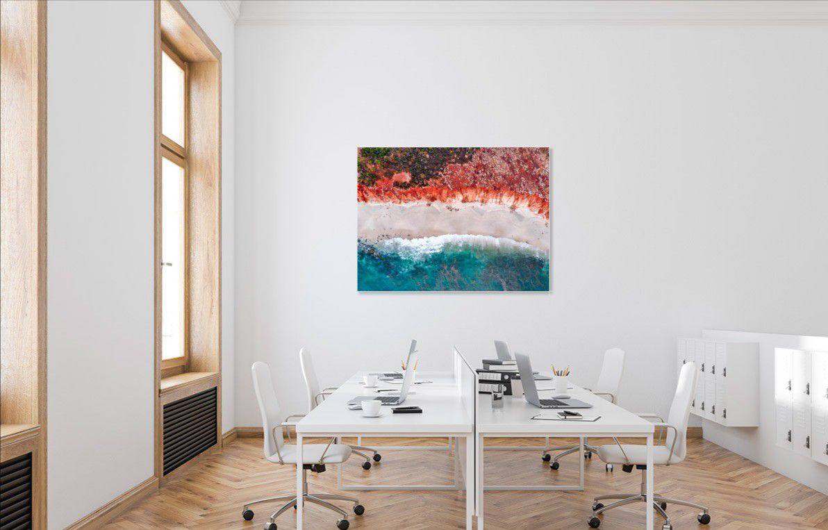Add A Pop Of Color To Your Office In 2021 Unique Wall Art Wall Art Decor Decor