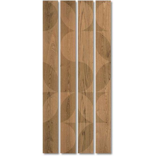 Composiciones infinitas de signos elementales que en su enfoque crea múltiples formas. Los suelos de madera con una capacidad total de procesamiento y entornos radicales asignados a la decoración, la imaginación, los sueños y recuerdos, los cuentos de hadas, el contraste de materiales y texturas que enriquecen e identifican la homogeneidad del espacio con demasiada frecuencia. DECORADOS hecho elemental que en su repetición, de acuerdo con diferentes patrones, se convierten en único cada vez.