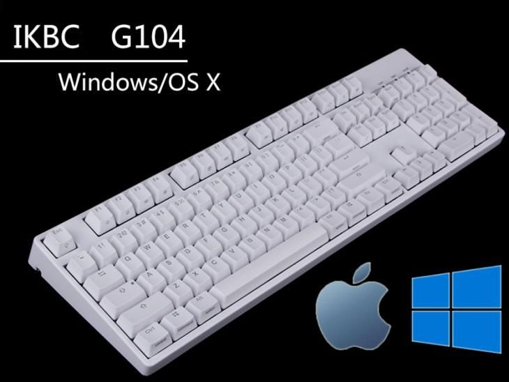 ikbc G87 G104 Windows/MAC Mechanical Gaming Keyboard Cherry MX