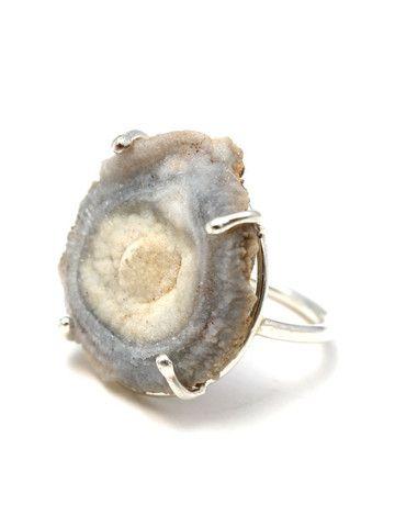 Chalcedony Rose Ring - wings hawaii - Maui Jewelry, Handmade Jewelry