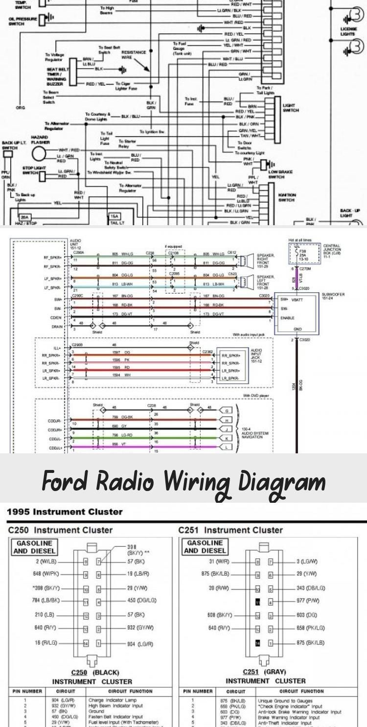 Ford Radio Wiring Diagram In 2020