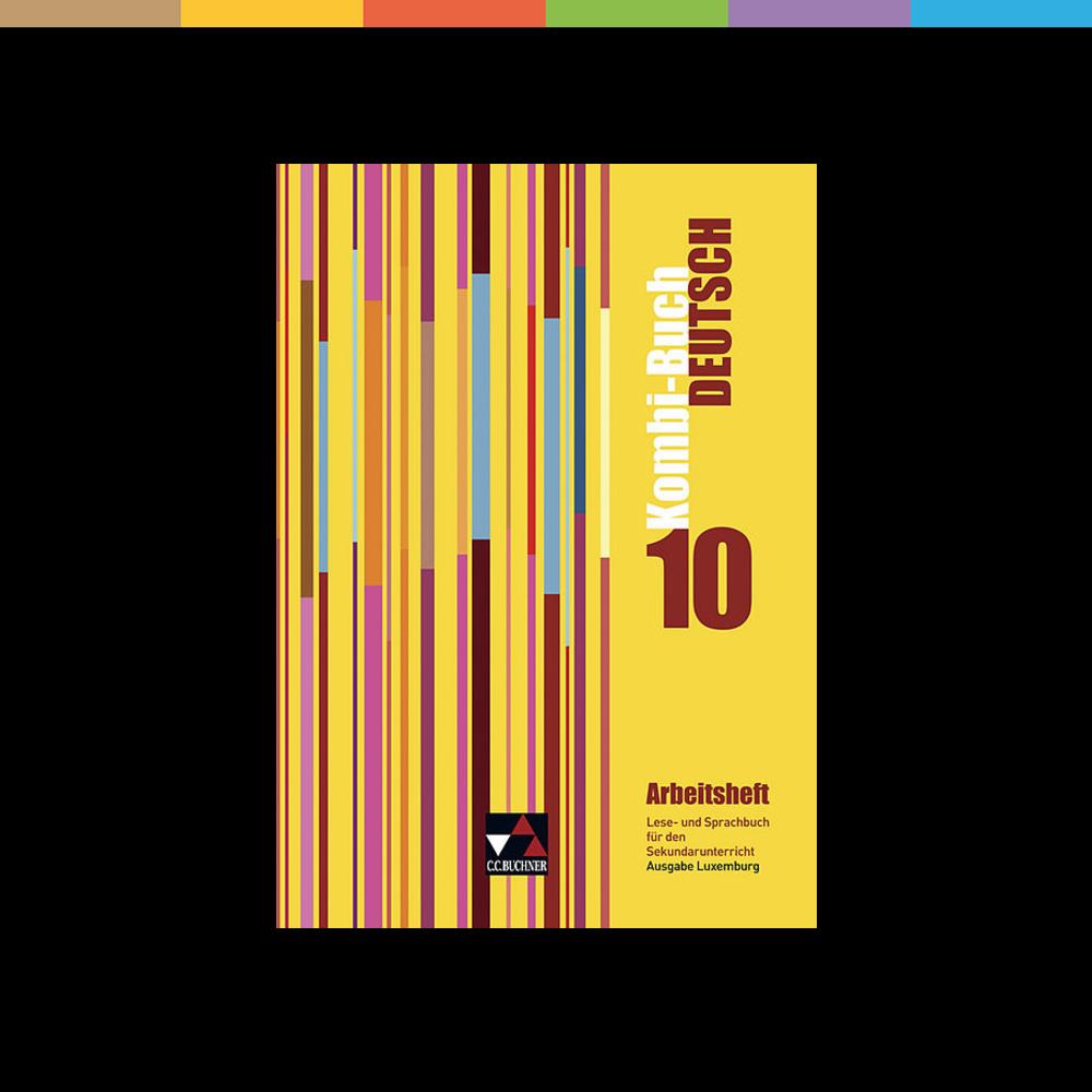 Die Arbeitshefte zum Kombi-Buch Deutsch - Ausgabe Luxemburg bieten eine Fülle von Übungen mit beiliegendem Lösungsteil, die das Lese- und Sprachbuch sinnvoll ergänzen. Sie eignen sich sowohl für vertiefendes Üben in der Klasse als auch für das selbstständige Wiederholen zu Hause. Folgende Bereiche werden abgedeckt: Umgang mit Texten und Medien (Prosa, Lyrik, Sachtexte) Reflexion über Sprache: Grammatik Reflexion über Sprache: Wortschatz Reflexion über Sprache: Rechtschreibung und Zeichensetzung
