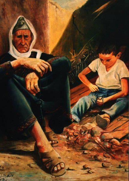 الفنان التشكيلي عماد ابو شتية Hope Painting Egyptian Art Arabic Art