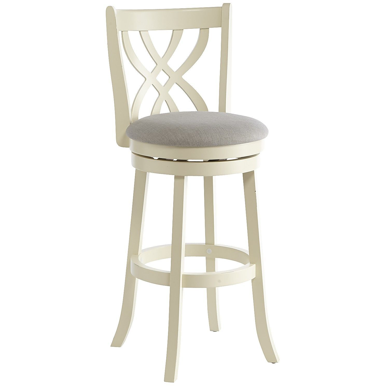 Cool Holbrook White Swivel Bar Stool Counter Bar Stools Swivel Gmtry Best Dining Table And Chair Ideas Images Gmtryco