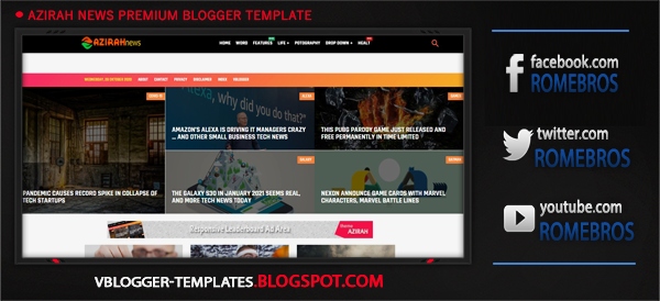 Pin By Romebros Network On Video Template In 2020 Blogger Templates Templates Blogspot Blogger