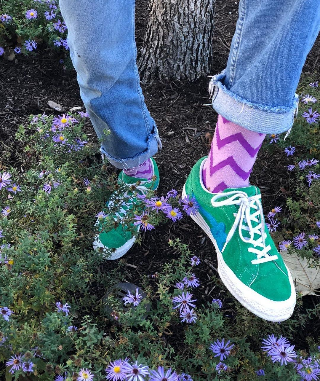 Tyler the Creator x Converse One Star OX Golf le Fleur