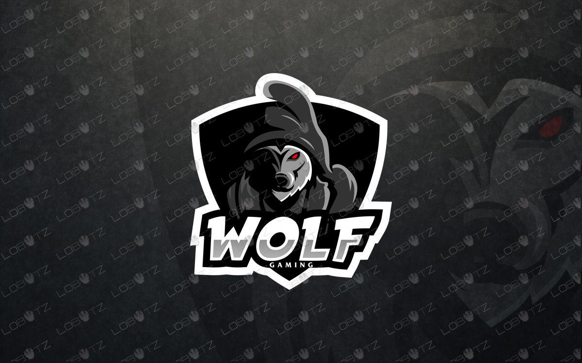 Premade logo wolf mascot logo wolf esports logo Logos