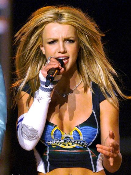 Britney Performing At The Super Bowl