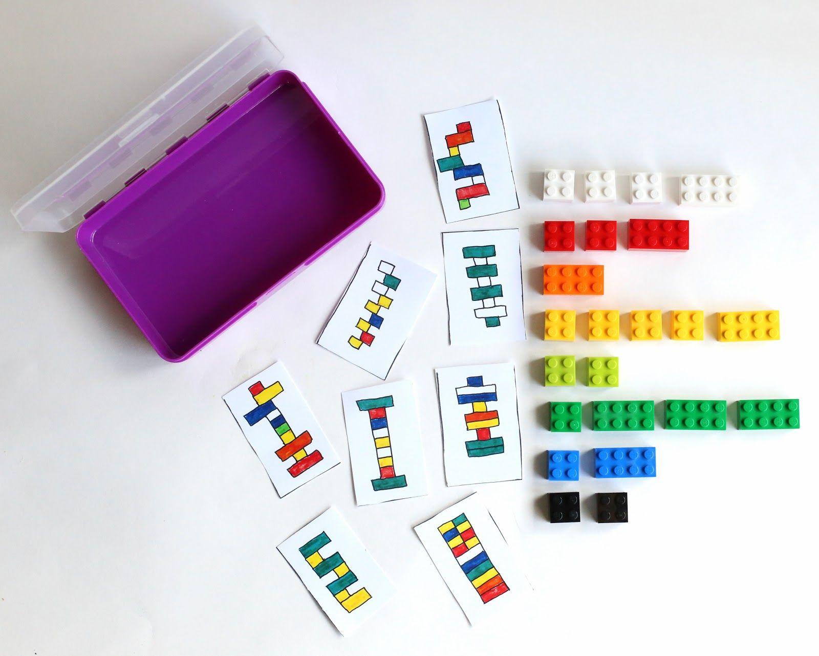 Diy Portable Lego Kit With 24 Free Printable Activity