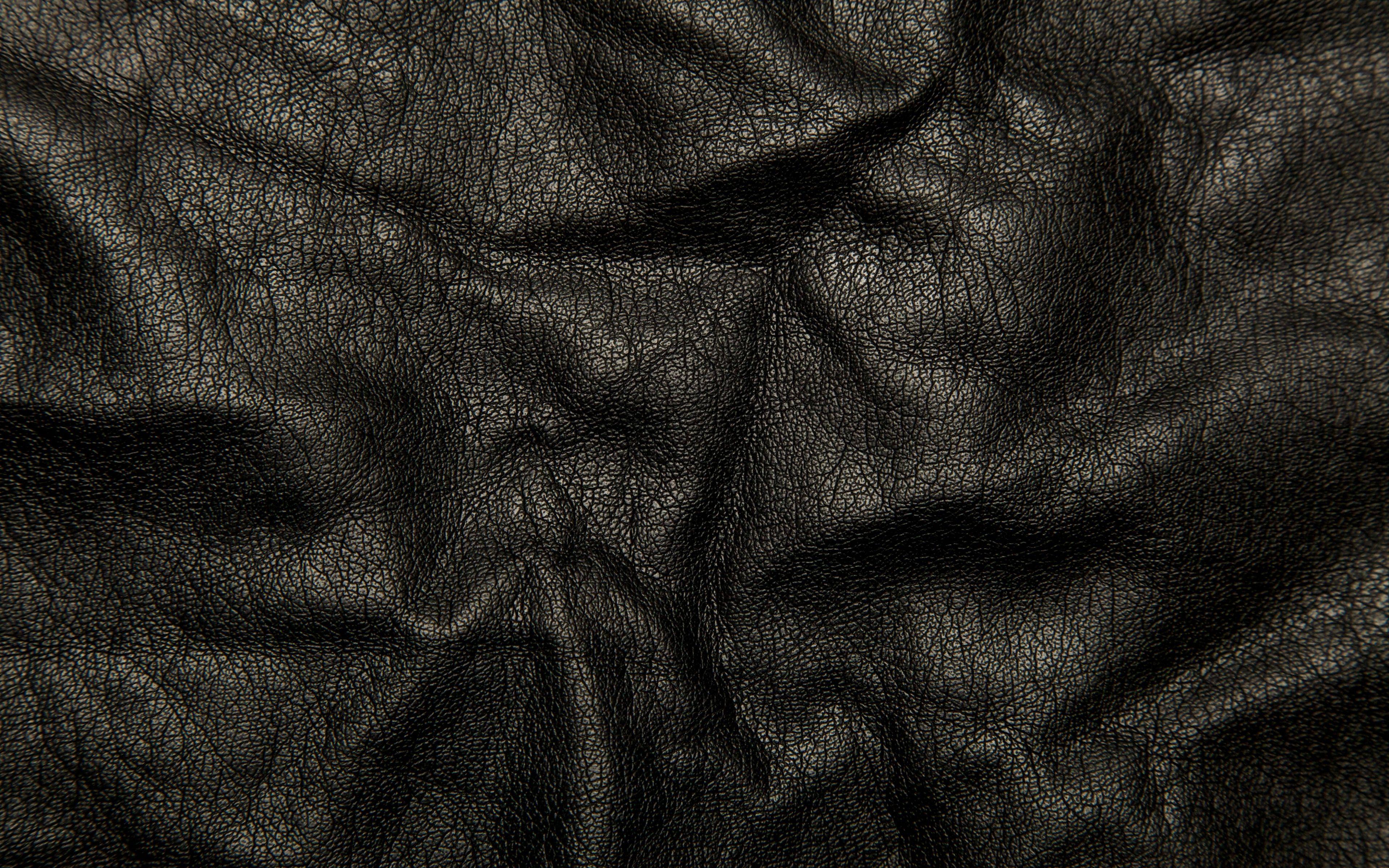 Download Wallpaper 3840x2400 Leather Black Background Texture Wrinkles Cracks Ultra Hd 4k Hd Bac Background Texture Wallpaper Images Hd Textured Wallpaper