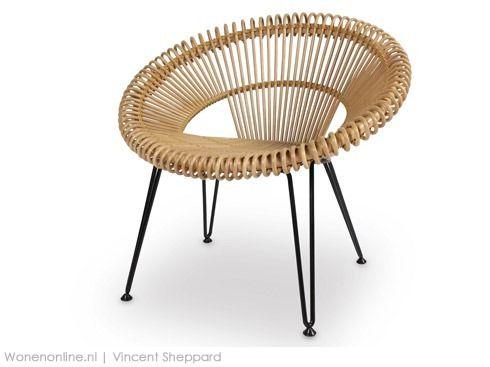 Retro Cane Chair Vy Van Vincent Shepperd