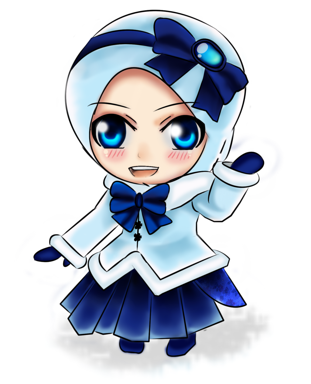 Chibi Yuki by on DeviantArt