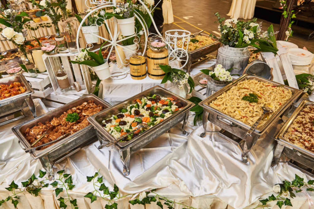 Manna Pot Catering Halal Buffet Caterer One Stop Wedding Caterer Wedding Buffet Food Wedding Buffet Catering