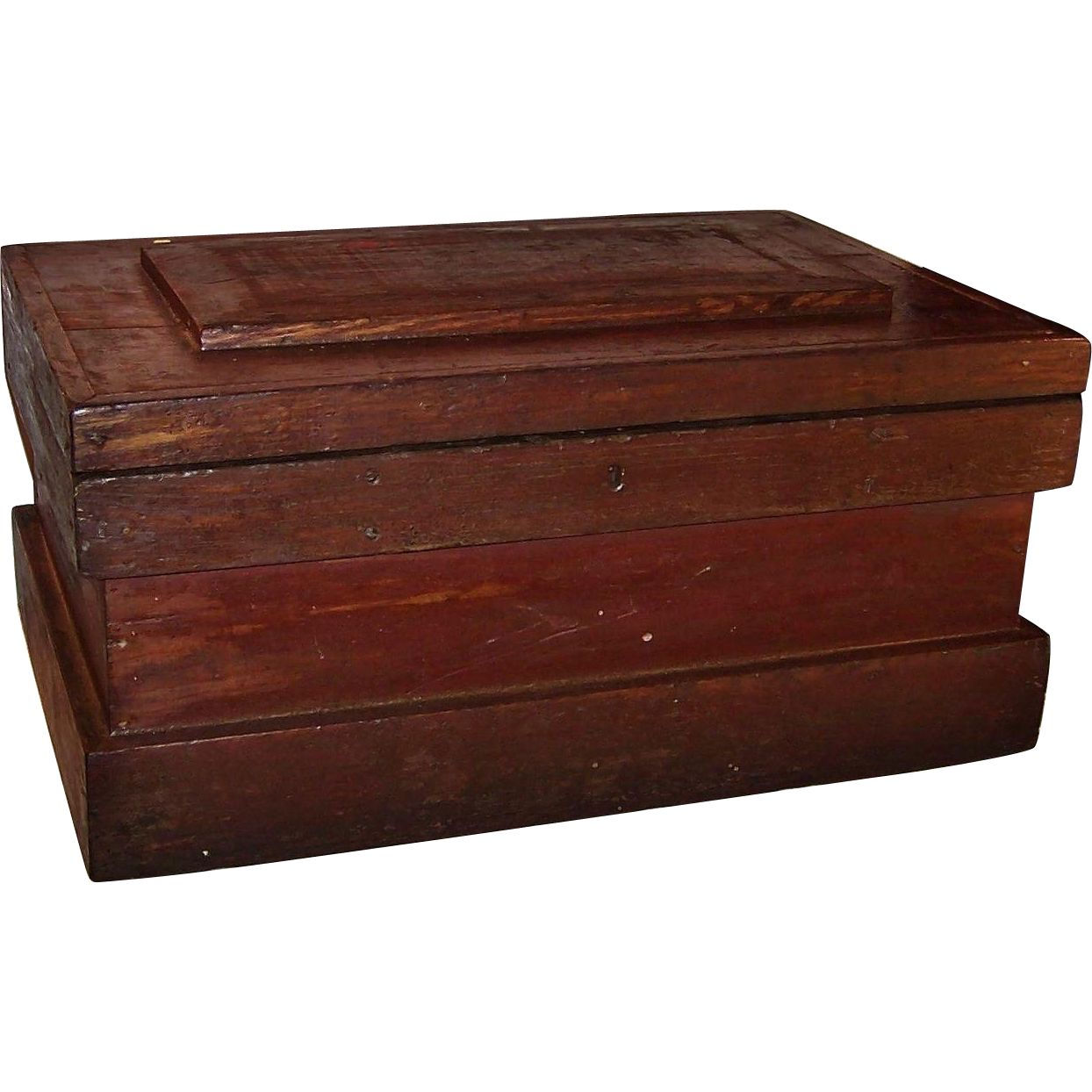 Fatheru0027s Day SALE: Large Vintage Wooden Tool Chest Storage Box    Found At  Www