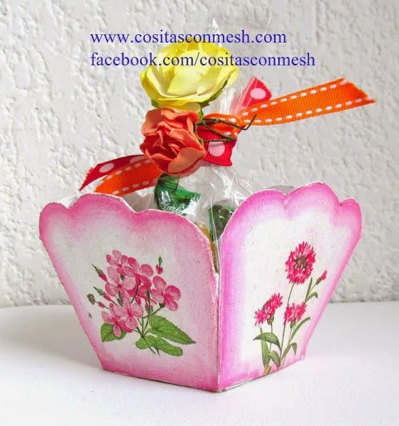 Una cajita de dulces para el d a de la madre - La cajita manualidades ...