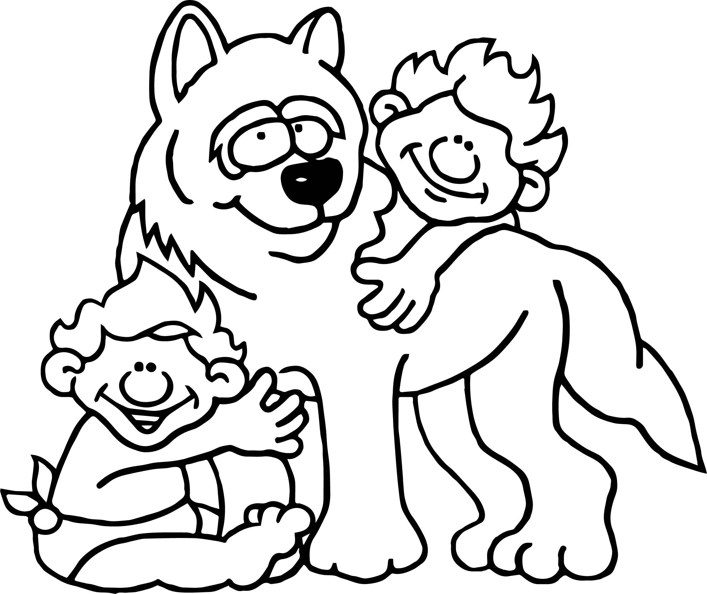 Awesome Romulus Remus And Child Coloring Page With Images