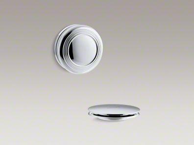 Kohler K-T37396-CP PureFlo Traditional Push Button Bath Drain Trim, Polished Chrome $52.50
