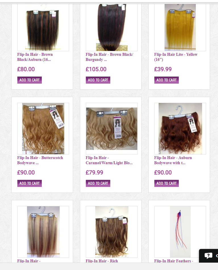 Check Out Our Sale Items Newly Up On The Website Flip In Hair