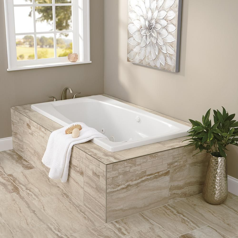 MARAZZI Vettuno Bisque 12 in. x 24 in. Glazed Porcelain Floor and ...
