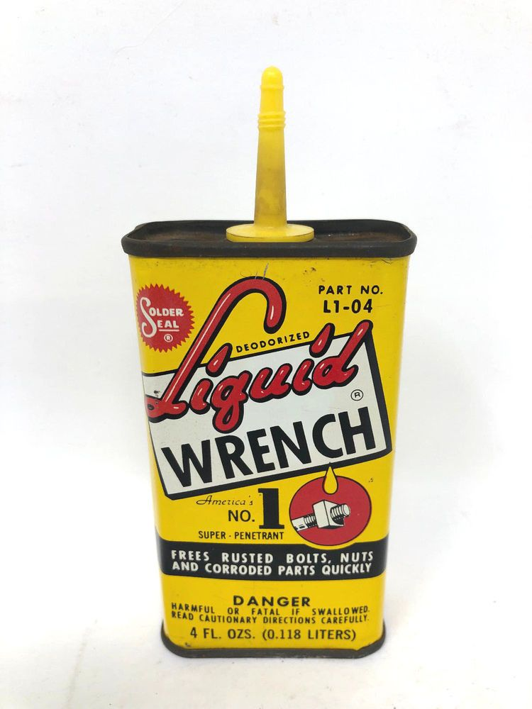 Vintage Liquid Wrench Handy Oiler 4 oz Unopened L1-04 by