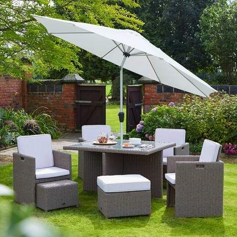 landford 4 seater garden furniture set wyevale garden centres - Garden Furniture 4 Seater