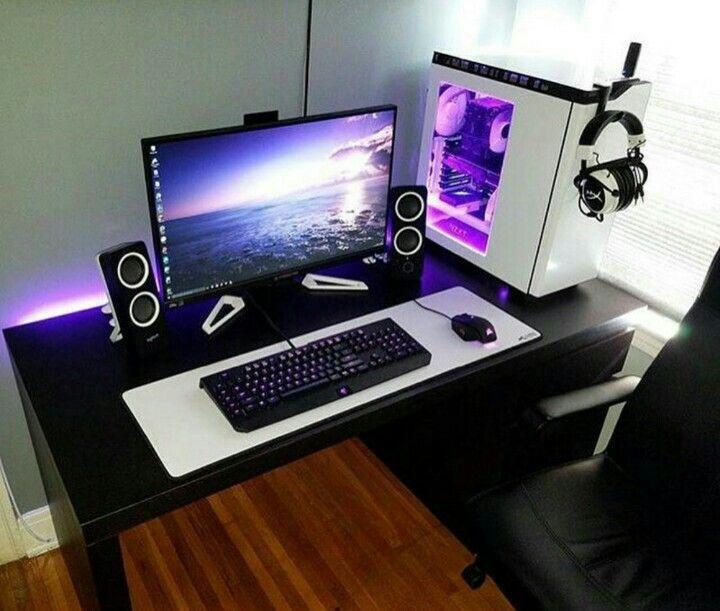 Computertisch gamer  Pin von Xristoforos Rittas auf Dream Setups | Pinterest ...