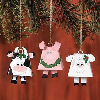 Farm Animal Ornament