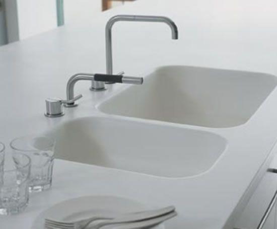 Corian Kitchen Sinks Corian Sink Sink Solid Surface Countertops Kitchen