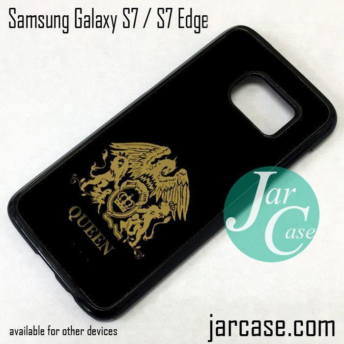 Queen Band Logo Phone Case for Samsung Galaxy S7 & S7 Edge