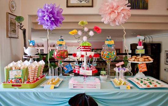 Dr. Suess Party Theme