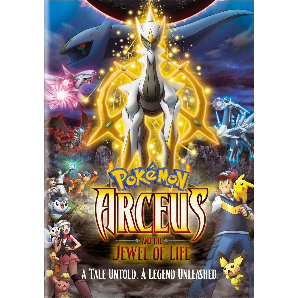 Pokemon Arceus And The Jewel Of Life Dvd Video Pokemon Movies
