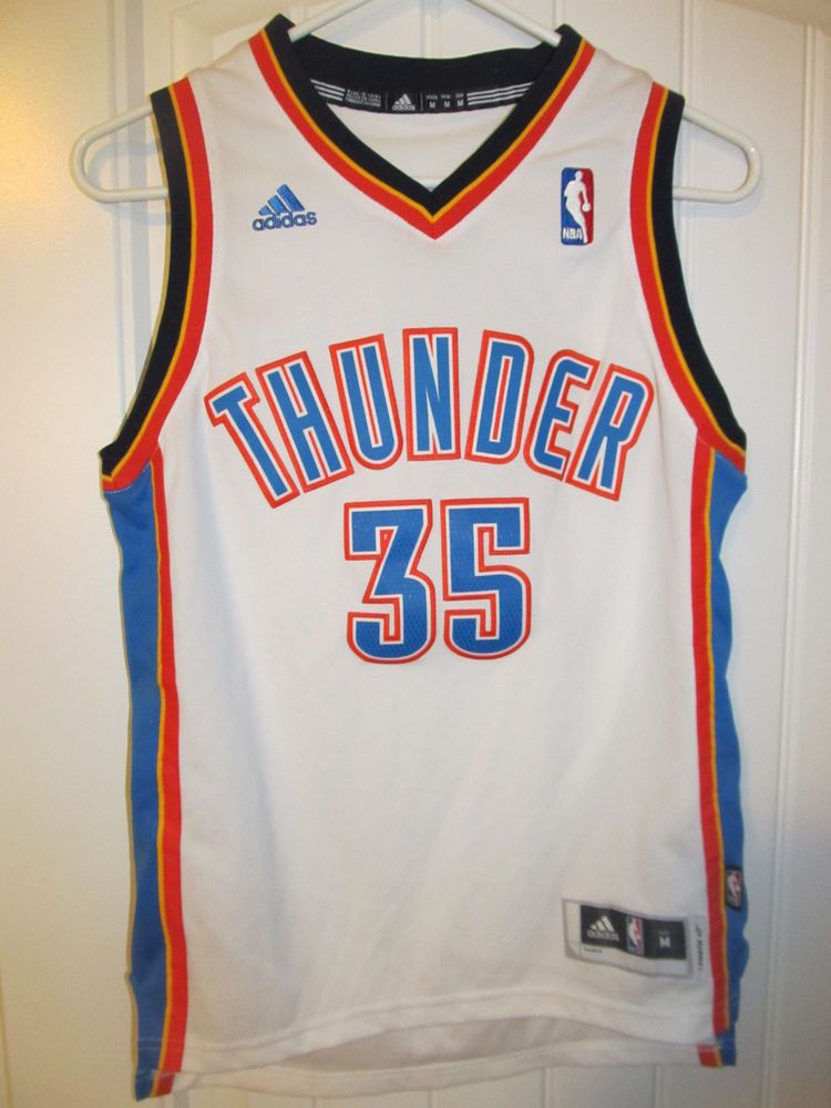 c5692b607 Kevin Durant - Oklahoma City Thunder sewn jersey - Adidas youth medium   adidas  OklahomaCityThunder