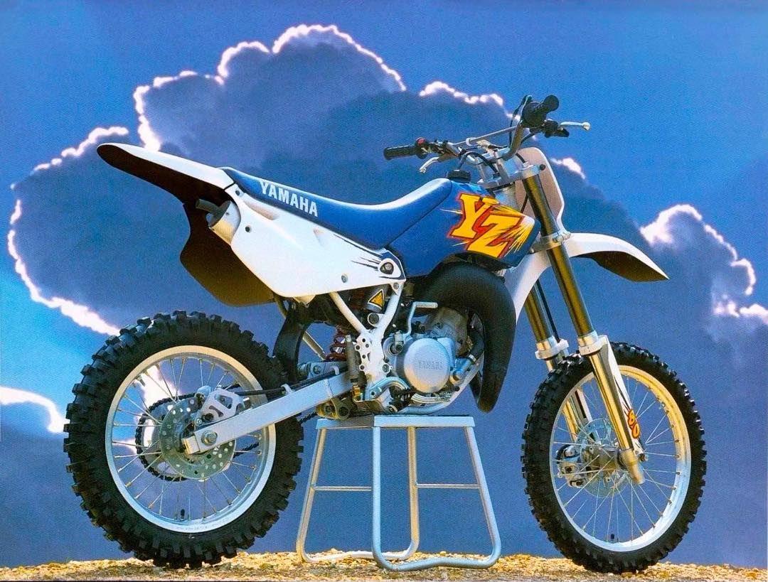 Yamaha S Navy Blue Mini Ripper For 1996 Yz80 Whyzed Blucru Motocross 90smotoruled Vintage Motocross Vintage Bikes Motocross
