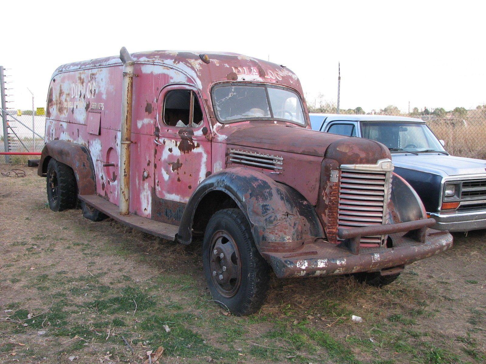 1949 International KB 6 Tandem Van Truck K 1 2 3 4 5 7 8 10 11 12 14 ...