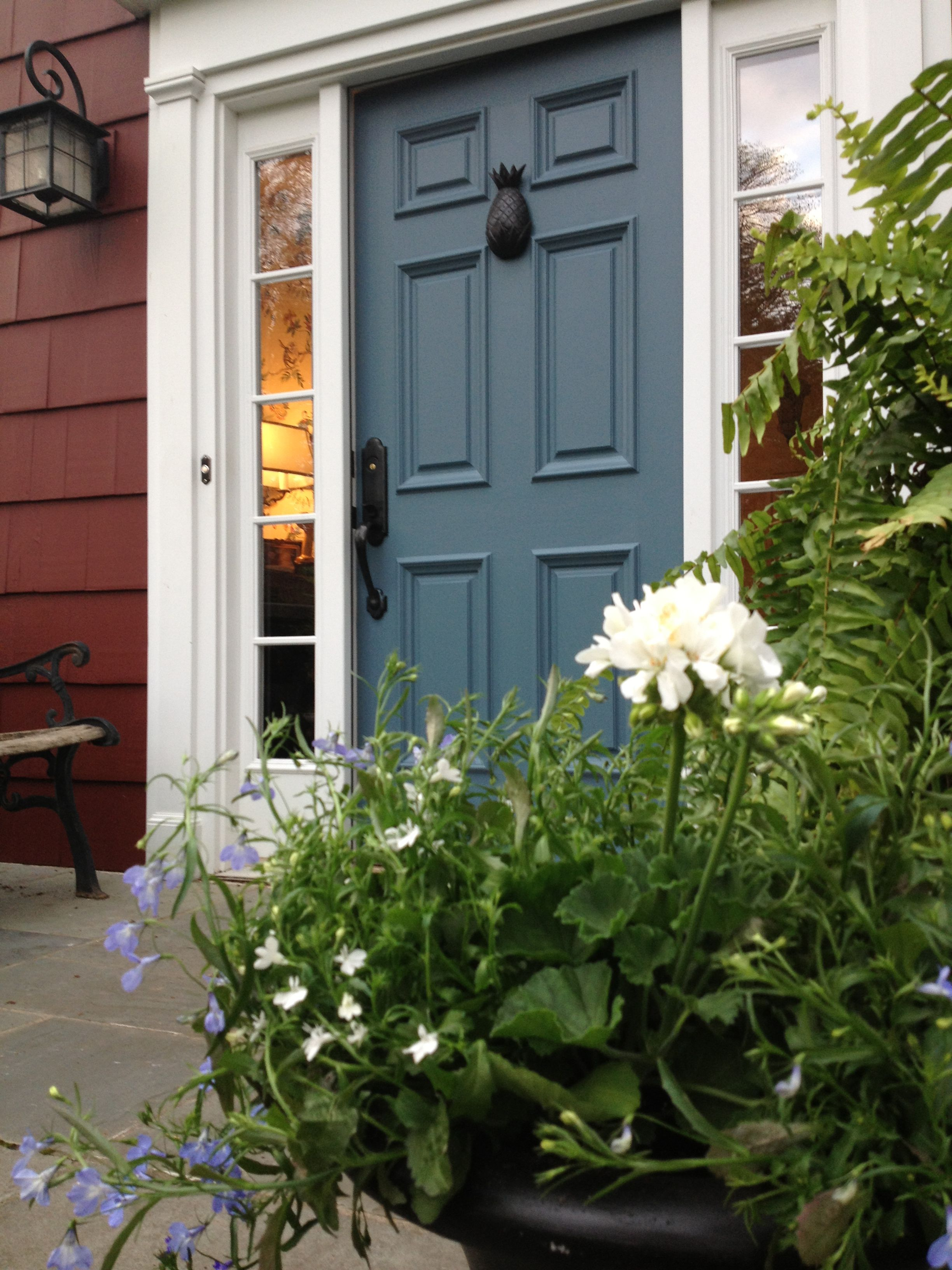 10 Best Practices for Blue Front Door Ideas | Benjamin moore ...