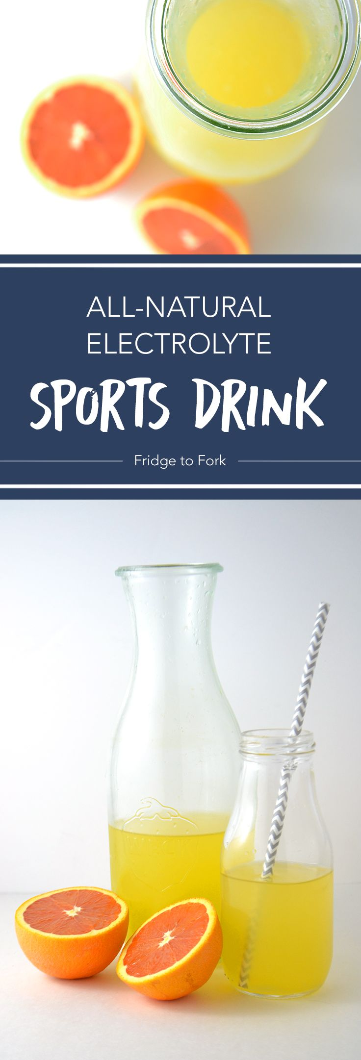 AllNatural Electrolyte Sports Drink Recipe Natural