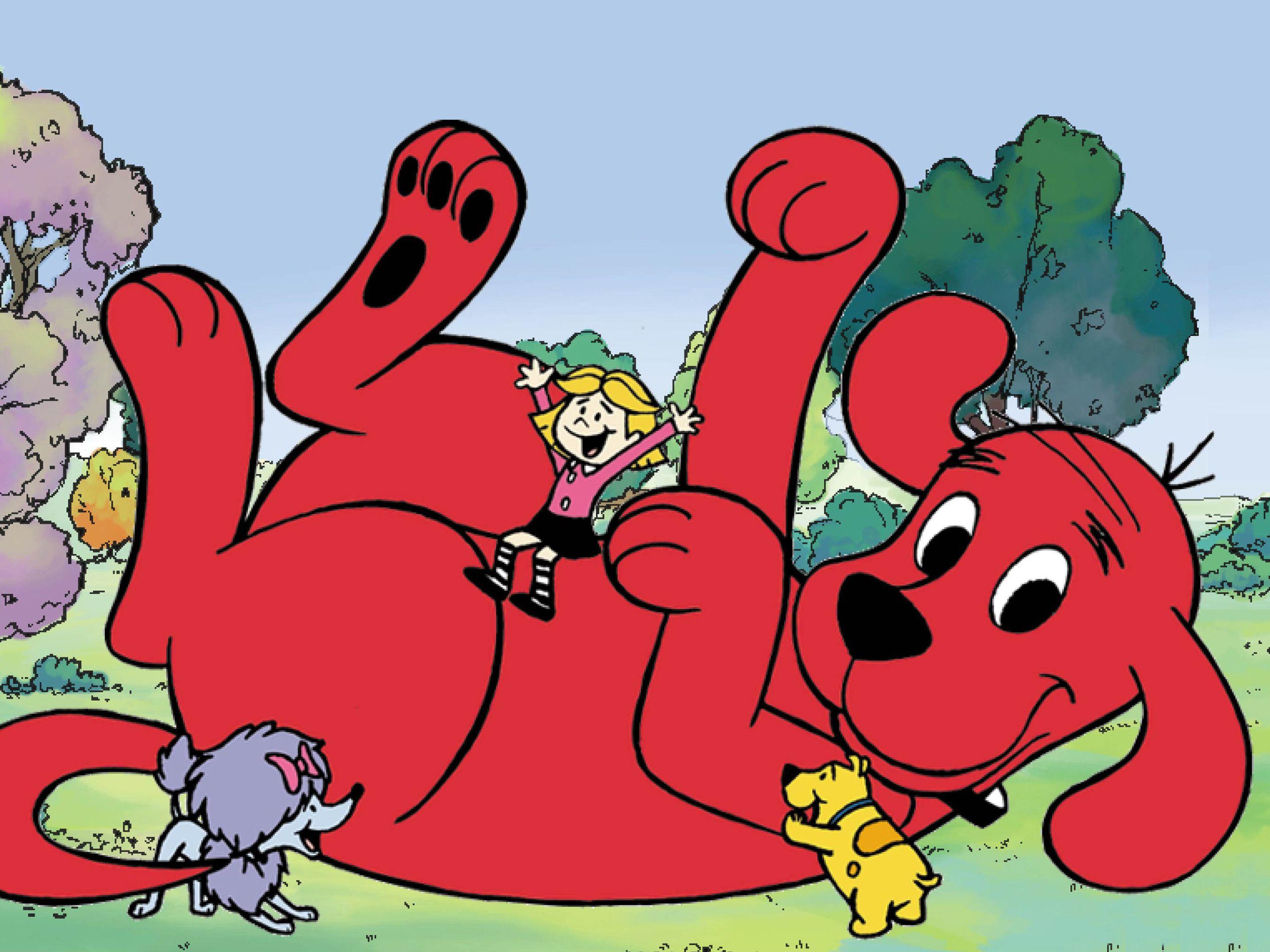 Clifford el gran perro rojo ❤ (2000). Adoré este comiquita ...