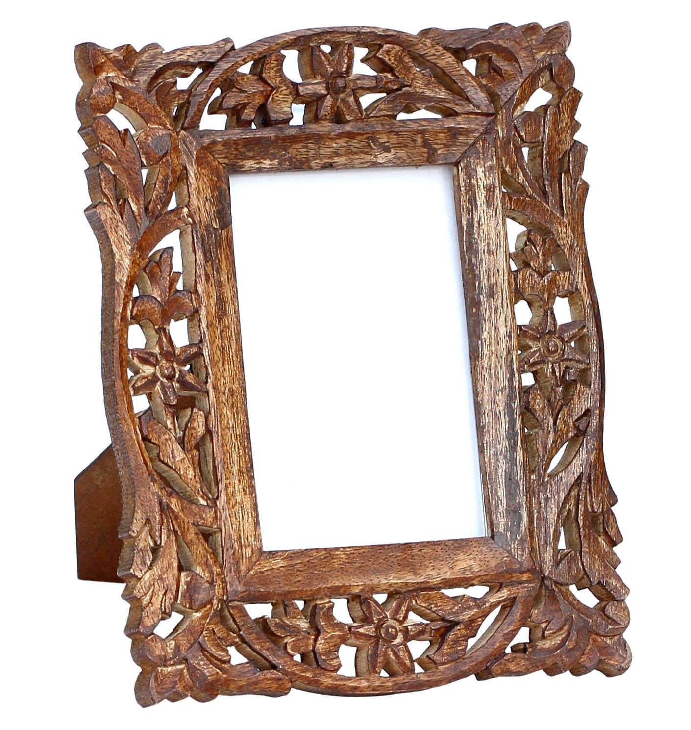 Memories Forever Handmade Wooden Photo Frame In Jaali Work Home Office Decor Wooden Photo Frames Wood Photo Frame Brown Picture Frames
