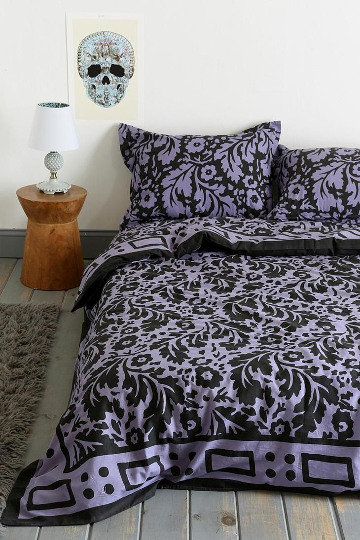 Magical Thinking Floral Block Duvet Cover Urbanoutfitters