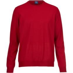 Photo of Olymp Strickpullover, moderne Passform, rot, Xl Olympymp