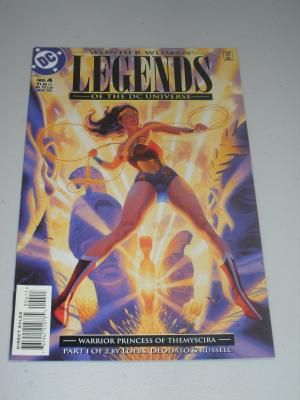 1994 Wonder Woman Legends Of The DC Universe #4 Comic Book Free Shipping!!