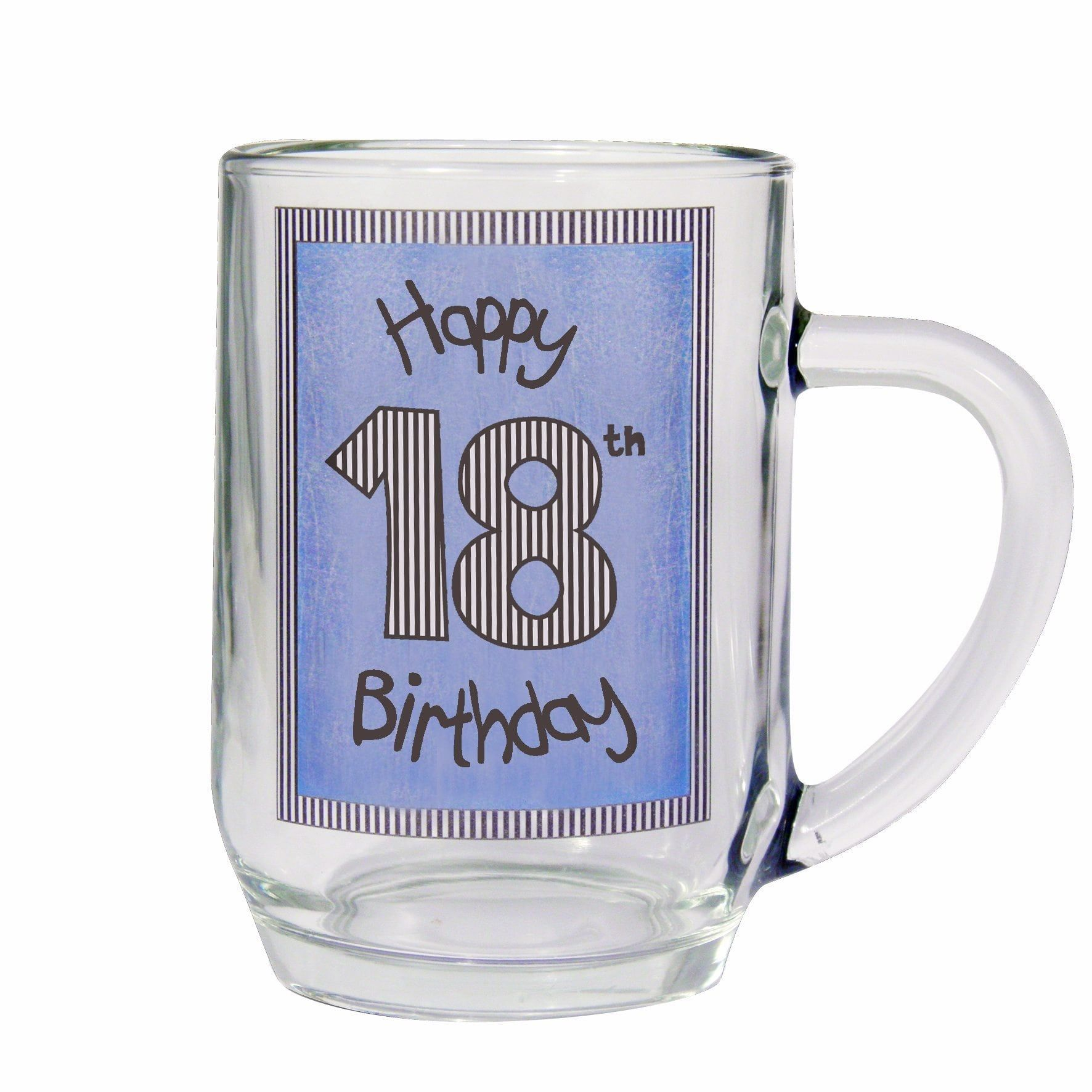 Personalised Beer Tankard 18th 21st 30th 50th 60th Birthday Any Age Any Message