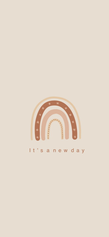 It's a new day  | iPhone screensavers