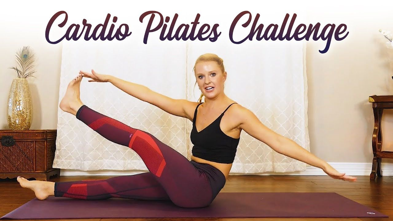 Cardio Pilates Weight Loss Challenge � Burn Fat, Shred Abs, Legs & Butt | At Home 25 Mins w/ Banks