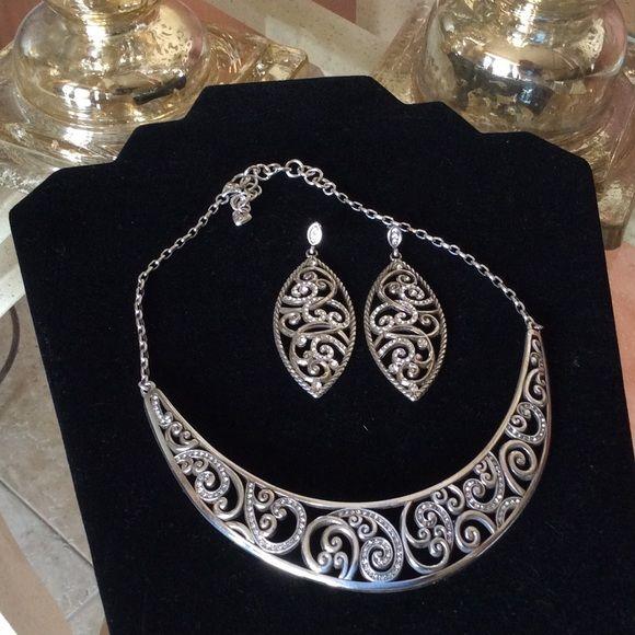 Brighton set Necklace & Earrings set Brighton Jewelry Necklaces