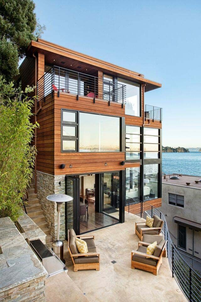 Modern Arts And Crafts House Cliff