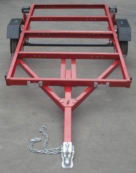Foldingtrailers Ca Mightyfold 4 X8 Folding Utility Trailer Remolque Para Carro Acoplado Para Uso General Remolques Motos