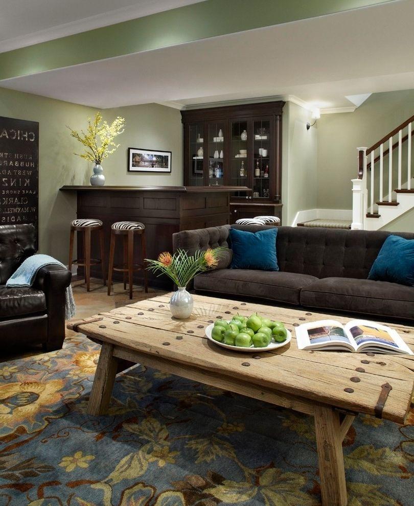 best paint colors for a dark basement | Living room ...